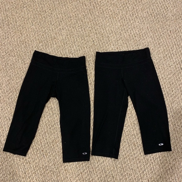 Champion Pants - Two pairs of Champion cropped workout pants